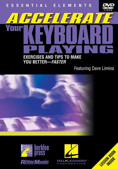 ACCELERATE YOUR KEYBOARD PLAYING BY LIMINA,DAVE (DVD)